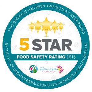 5 star food safety Rating